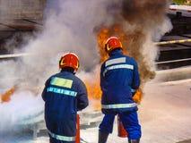 Деятельность пожарного Стоковые Изображения