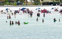 Деятельность при пляжа Clearwwater Стоковые Изображения RF
