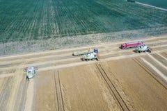 деятельность пшеницы жатки поля зернокомбайна Жатка зернокомбайна Ae Стоковые Изображения RF