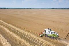деятельность пшеницы жатки поля зернокомбайна Жатка зернокомбайна Ae Стоковое Изображение