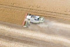деятельность пшеницы жатки поля зернокомбайна Жатка зернокомбайна Ae Стоковое Изображение RF