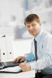 деятельность стола бизнесмена Стоковое Изображение RF