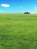 деятельность трактора поля Стоковая Фотография RF