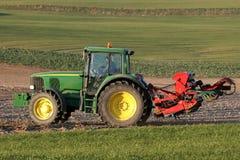 деятельность трактора поля Стоковое фото RF