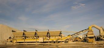 деятельность фабрики цемента стоковая фотография rf