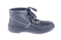 деятельность черного человека новая s ботинок Стоковые Изображения RF