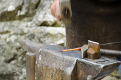 деятельность blacksmith Стоковые Фотографии RF