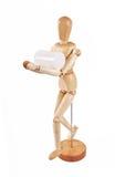 деятельность marionette деревянная Стоковые Фотографии RF