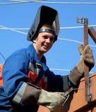 деятельность welder высоты Стоковые Изображения RF