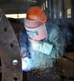 деятельность welder стоковое изображение
