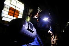 деятельность welder Стоковое Изображение RF