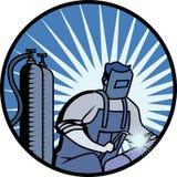 деятельность welder Стоковое Фото
