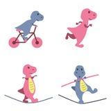 Деятельности при динозавров Стоковое Изображение RF