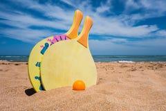 Деятельности при пляжа Стоковое фото RF