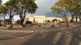 Деятельность в испанском языке Casa de Narino для дома Narino официальный дом и главным образом рабочее место президента Стоковые Изображения