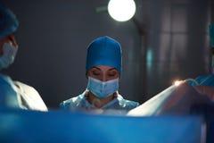 Деятельность в прогрессе на больнице Стоковая Фотография