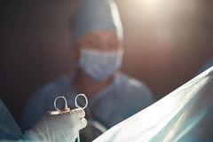 Деятельность в прогрессе на больнице Стоковое Изображение RF