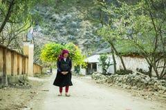 Деятельность женщины этнического меньшинства Стоковая Фотография RF
