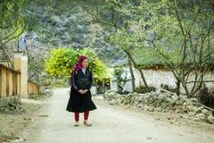 Деятельность женщины этнического меньшинства Стоковое Изображение RF