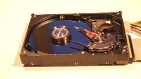 Деятельность жесткого диска Внутренний жёсткий диск компьютера акции видеоматериалы