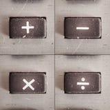 Деятельность математики Стоковая Фотография RF