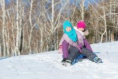 Деятельность при зимы Стоковое Изображение