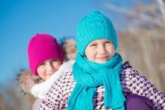 Деятельность при зимы Стоковые Фотографии RF