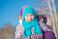 Деятельность при зимы Стоковая Фотография