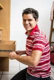 Деятельность человека плотника Стоковые Фото