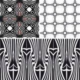 Делает по образцу различную безшовную черноту Иллюстрация вектора