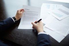 Делать деловое соглашение Стоковые Изображения