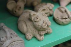 Делать животное глины Стоковые Изображения
