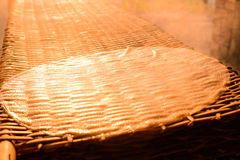 Делать из лапшей риса стоковая фотография rf