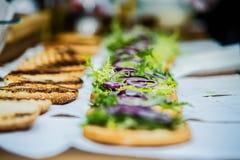 Делать из бургеров Стоковая Фотография RF