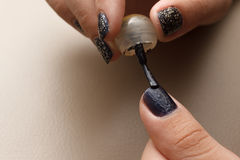 Делать искусства ногтя Стоковое Фото