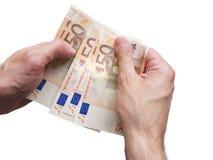 Делать концепцию дела евро Стоковое Изображение