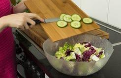 Делать салат стоковое изображение rf