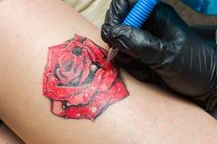 Делать татуировки Стоковые Изображения RF