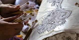 Делать шнурка Стоковая Фотография RF