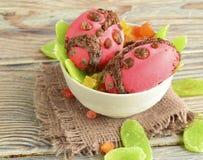 Делают Ladybugs из мороженого Стоковое Фото