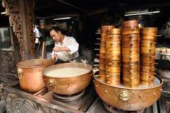 Делающ Чэнду традиционные заедки Стоковое Изображение RF