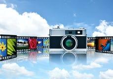 Делить фотографии и изображения стоковое фото