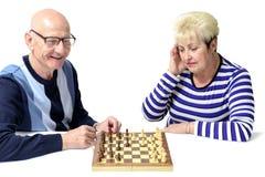 Дед и бабушка Стоковое Изображение RF