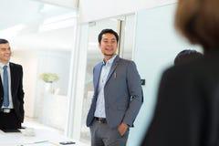Деловая встреча в конференц-зале Стоковая Фотография RF
