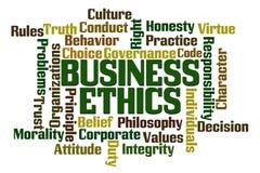 Деловая этика Стоковая Фотография RF