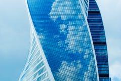Деловый центр новых зданий современный стоковая фотография