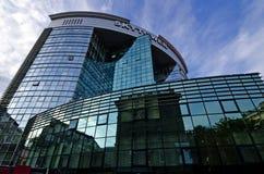 Деловый центр Chisinau стоковые изображения rf