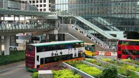 Деловый центр Hong Kong сток-видео