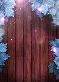 Дело зимы или предпосылка приглашения Стоковая Фотография RF