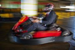 Дело как гонки kart Стоковые Фото